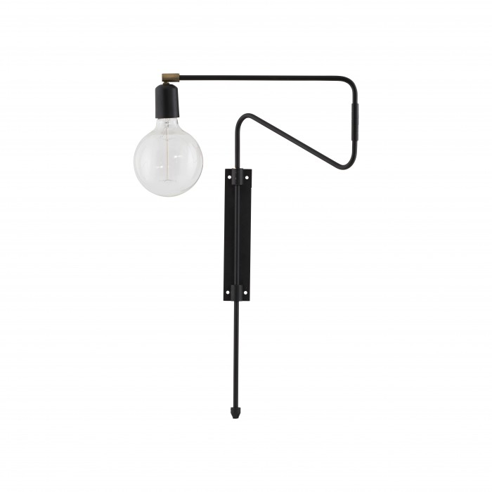 SWING Wall lamp - Black
