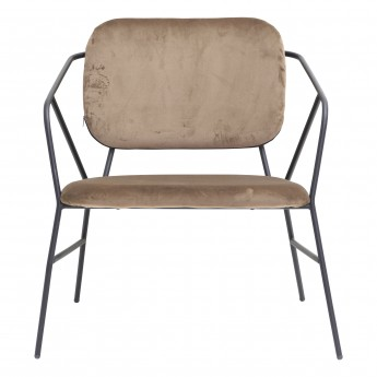 KLEVER Armchair - Brown