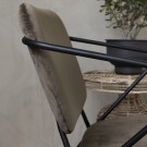KLEVER Armchair - Brown