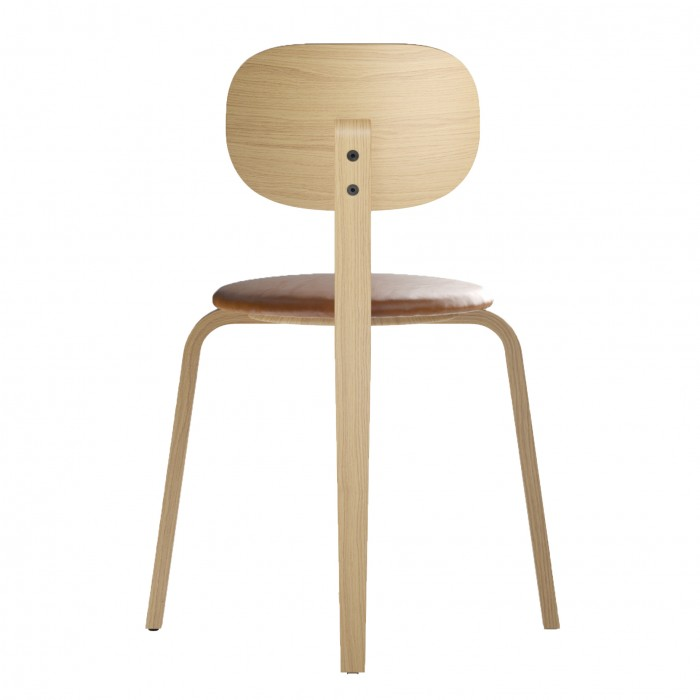 Chaise AFTEROOM PLYWOOD - Tapissée