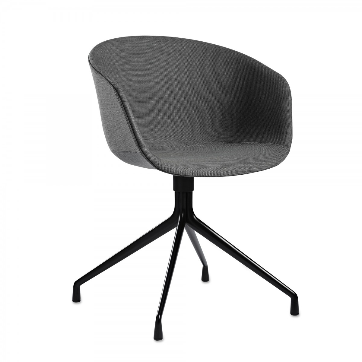 aac21 chair feet in aluminium with polypropylene shell unpholstered hay. Black Bedroom Furniture Sets. Home Design Ideas