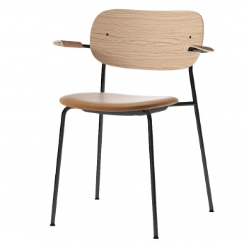 CO Chair with armrests - Upholstered