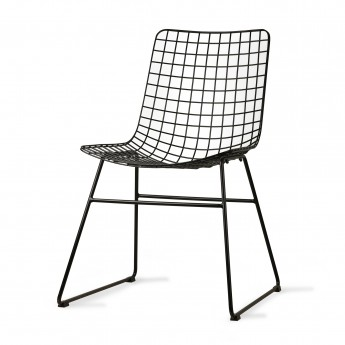 WIRE chair - Noir