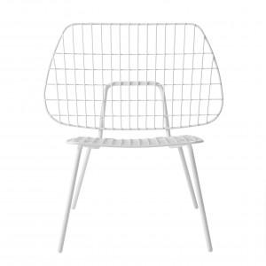 Chaise WM STRING LOUNGE - Blanc