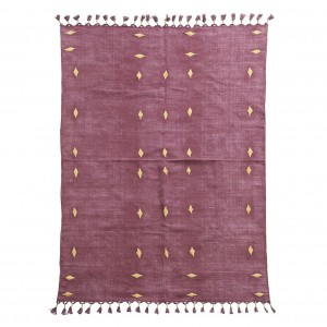 BACKSIDE Rug - Wine
