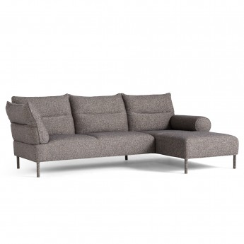 PANDARINE reclaining chaiselongue - Swarm multico