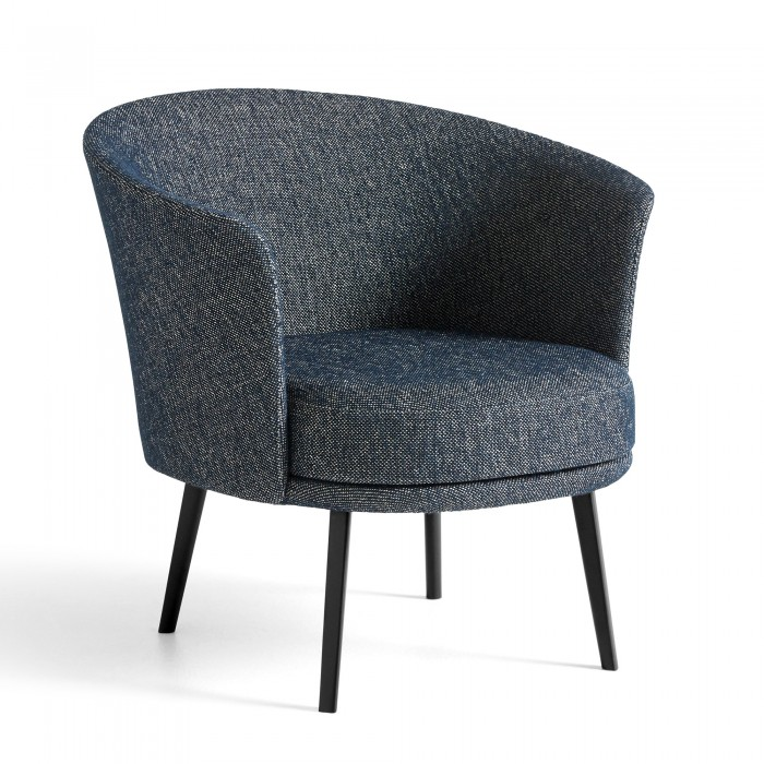 DORSO armchair - fairway Dark blue
