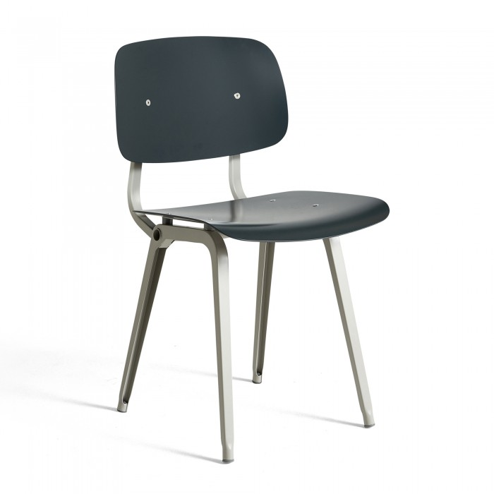 Chaise REVOLT - gris granite