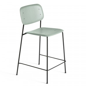 SOFT EDGE 10 bar stool - dusty green