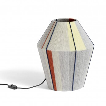 BONBON grey melange table lamp S