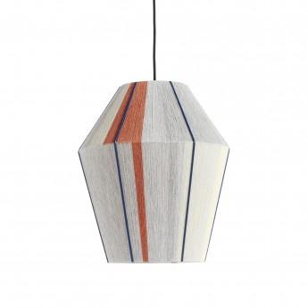 BONBON grey melange hanging lamp S