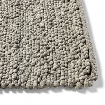 PEAS RANDOM medium grey rug