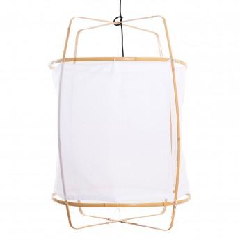 Lampe Z22 blonde - coton blanc