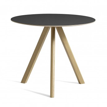 Table ronde Copenhague modèle 20 - Ø 90 x H 74 cm
