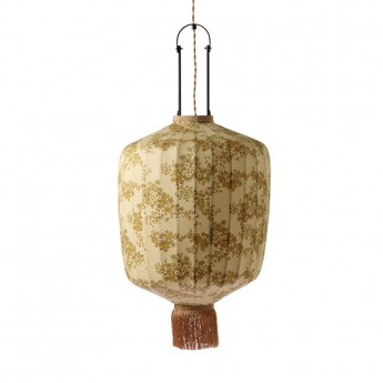 LAMPION fabric lantern army green