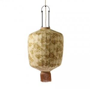 DORIS fabric lantern vintage print