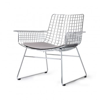 Chaise lounge Wire - Chrome