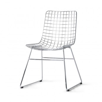 Chaise WIRE - Noir