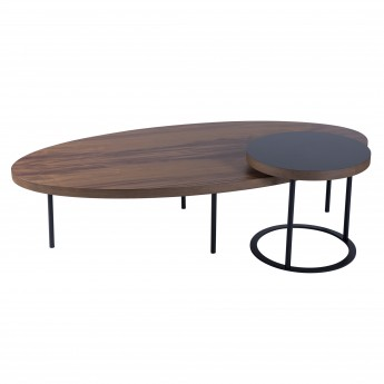 Table basse FRIANDISE - Noyer