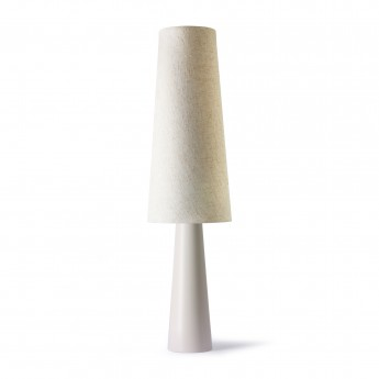 Retro CONE floor lamp - Cream