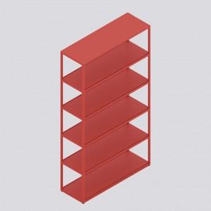 Étagère verticale NEW ORDER rouge
