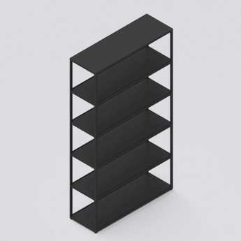 NEW ORDER vertical shelf charcoal