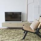WOOD tv cabinet 167 cm - sand