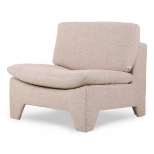 RETRO LOUNGE Armchair - Nude