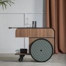 Chariot bar TRINK - Noyer