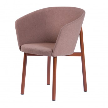 BRIDGE RESIDENCE Armchair - Pink
