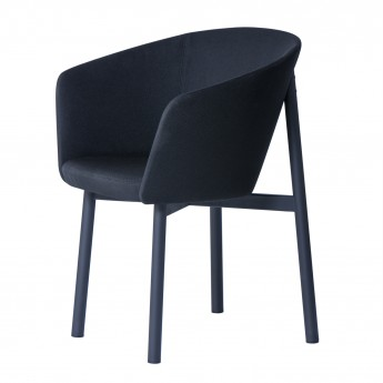 BRIDGE RESIDENCE Armchair - Black