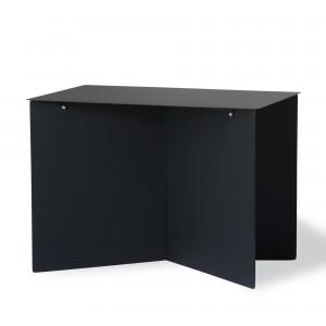Metal SIDE table rectangular - black