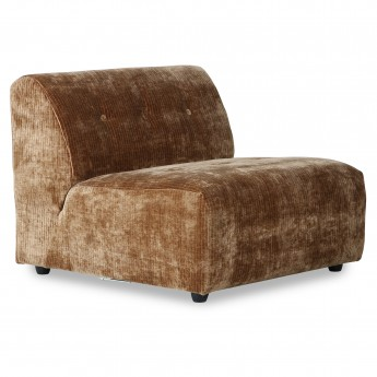 VINT couch element middle - aged gold