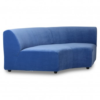 Element round JAX couch - blue