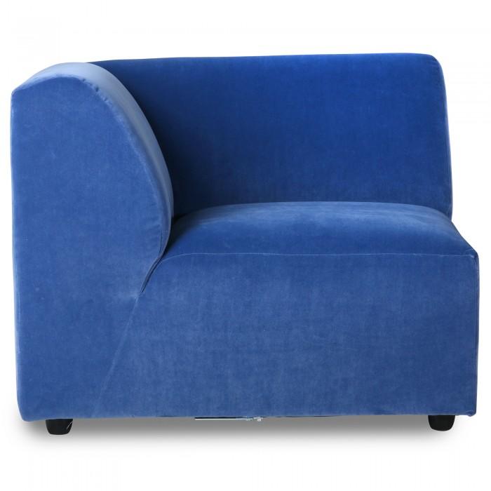 Left armrest module - JAX couch blue