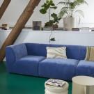 Right armrest module - JAX sofa light grey