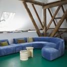 Centre module - JAX couch blue