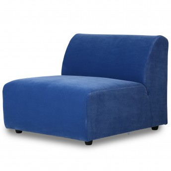 Centre module - JAX couch blue