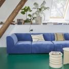 Module pouf - canapé JAX bleu