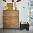 MODULAR Cabinet drawer element C - black