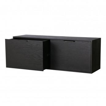 MODULAR Cabinet drawer element B - black