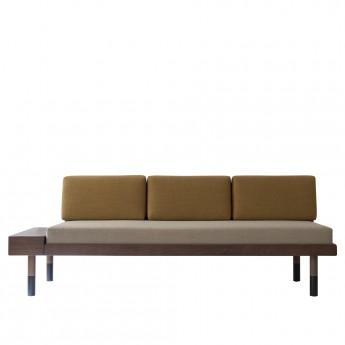 MID Straight sofa - Beige, ocher