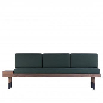 MID Straight sofa - Green