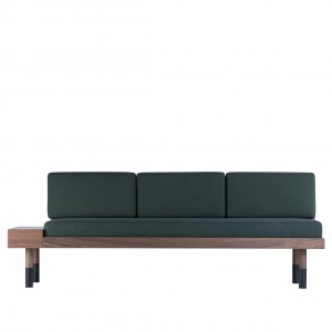 MID Straight sofa - Green