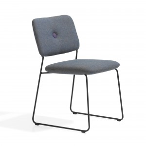 DUNDRA Chair - Black steel