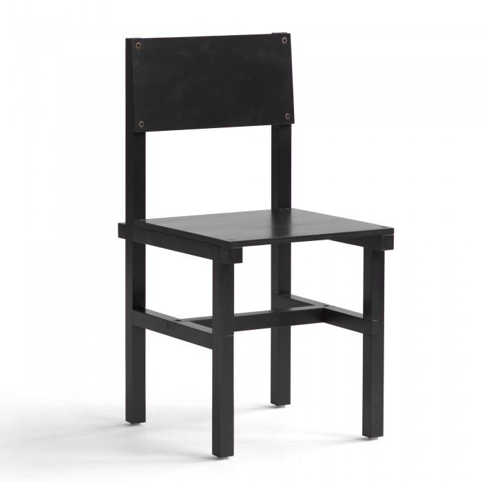 Chaise RÖHSSKA - hêtre noir