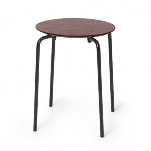 HERMAN stool bordeaux