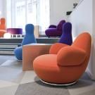 Oppo armchair - Swivel base