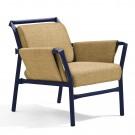 SUPERLINK Easy Chair - Painted steel