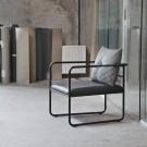 MORRIS JR Easy Chair - Chrome